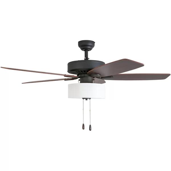 52 Sybilla 5 Blade Ceiling Fan Light Kit Included Fan Light