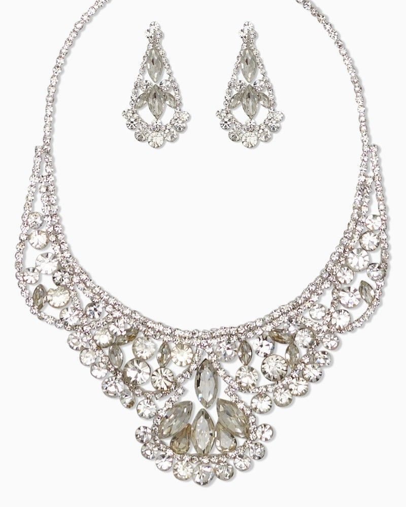Possible wedding jewelry charming charlie Red Carpet Necklace Set