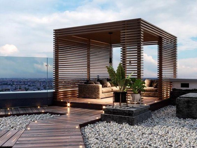 📌 50 Wooden Patio Design Ideas For Your Backyard 16 Terrace