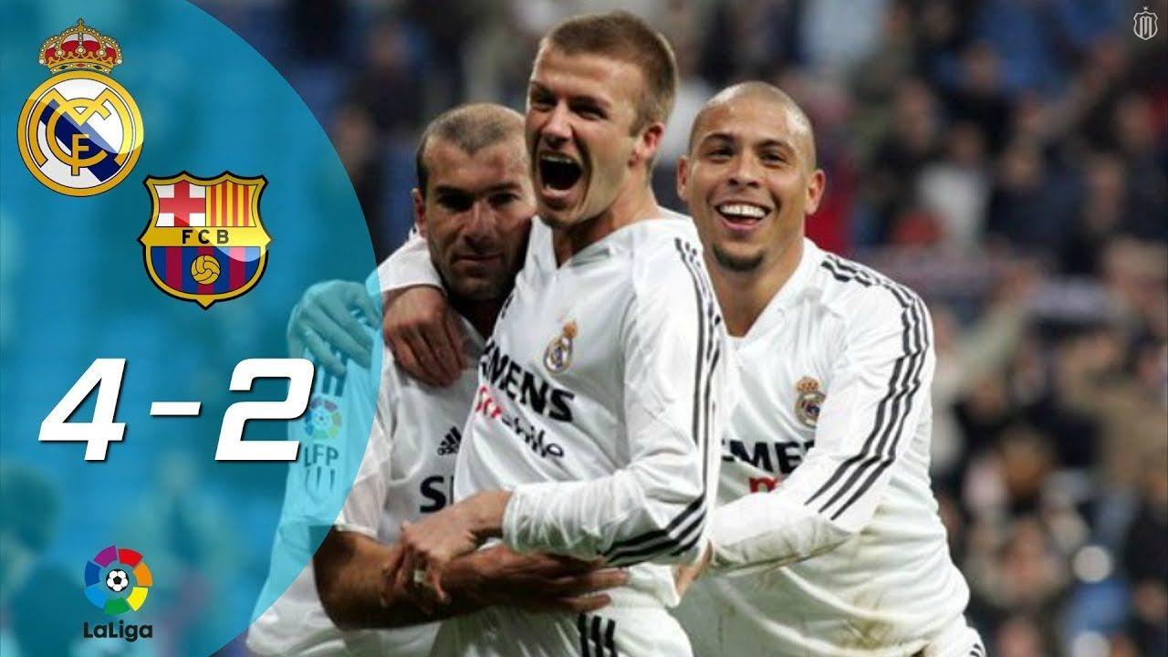 Барселона реал мадрид 2004