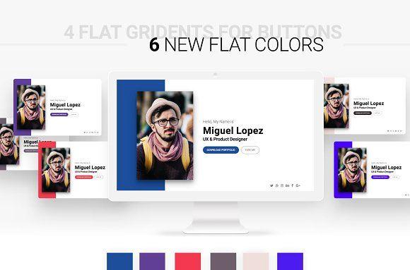 Personal Website for Multi-Purpose Website Design - Website Layout