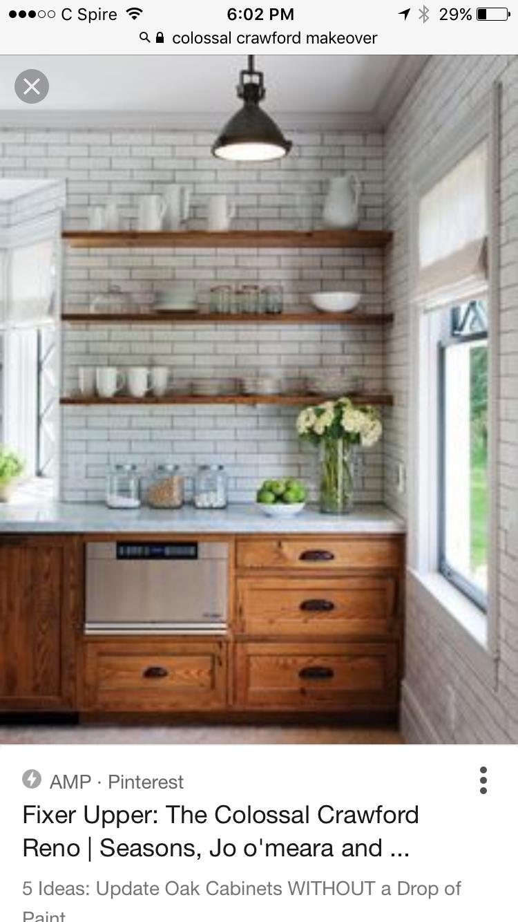 Fixer Upper Collosal Crawford Reno Future Home Oak Kitchen
