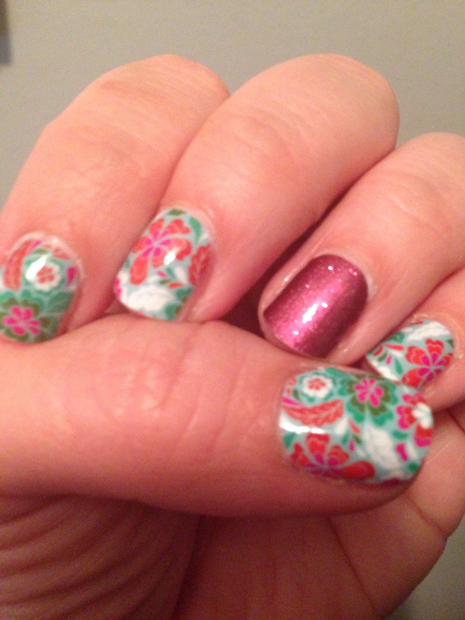 Jamberry Nails- nail art made easy! #nailart #siestajn ...