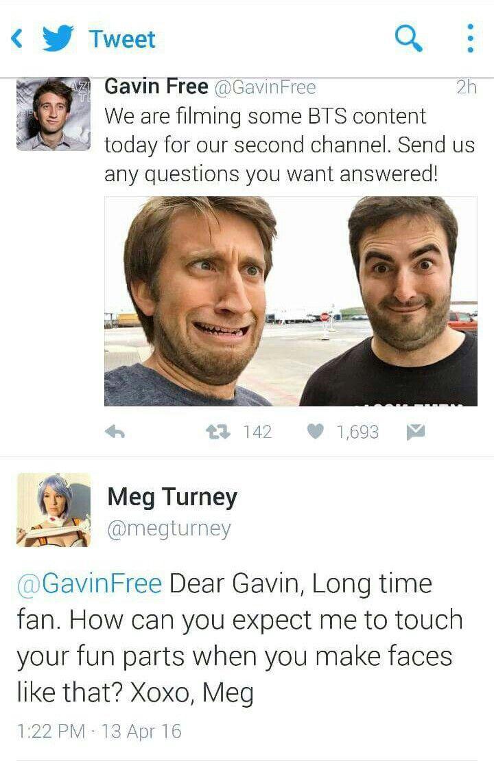 Gavin free meg turney
