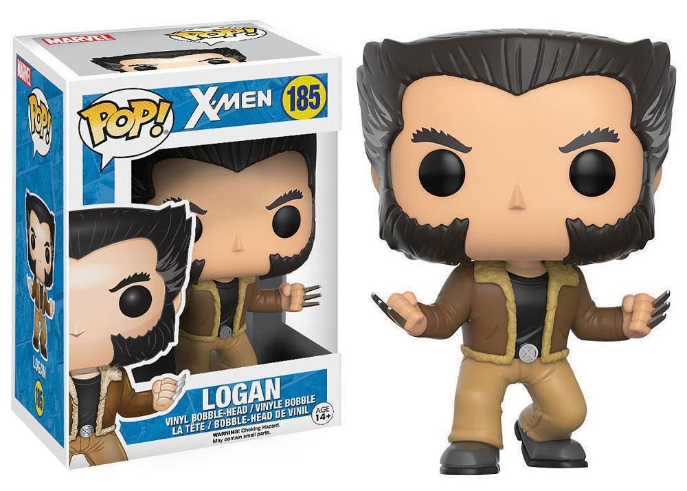 Wolverine Vinyl Figure Funko Pop Bundled with Pop BOX PROTECTOR CASE Marvel: X-Men