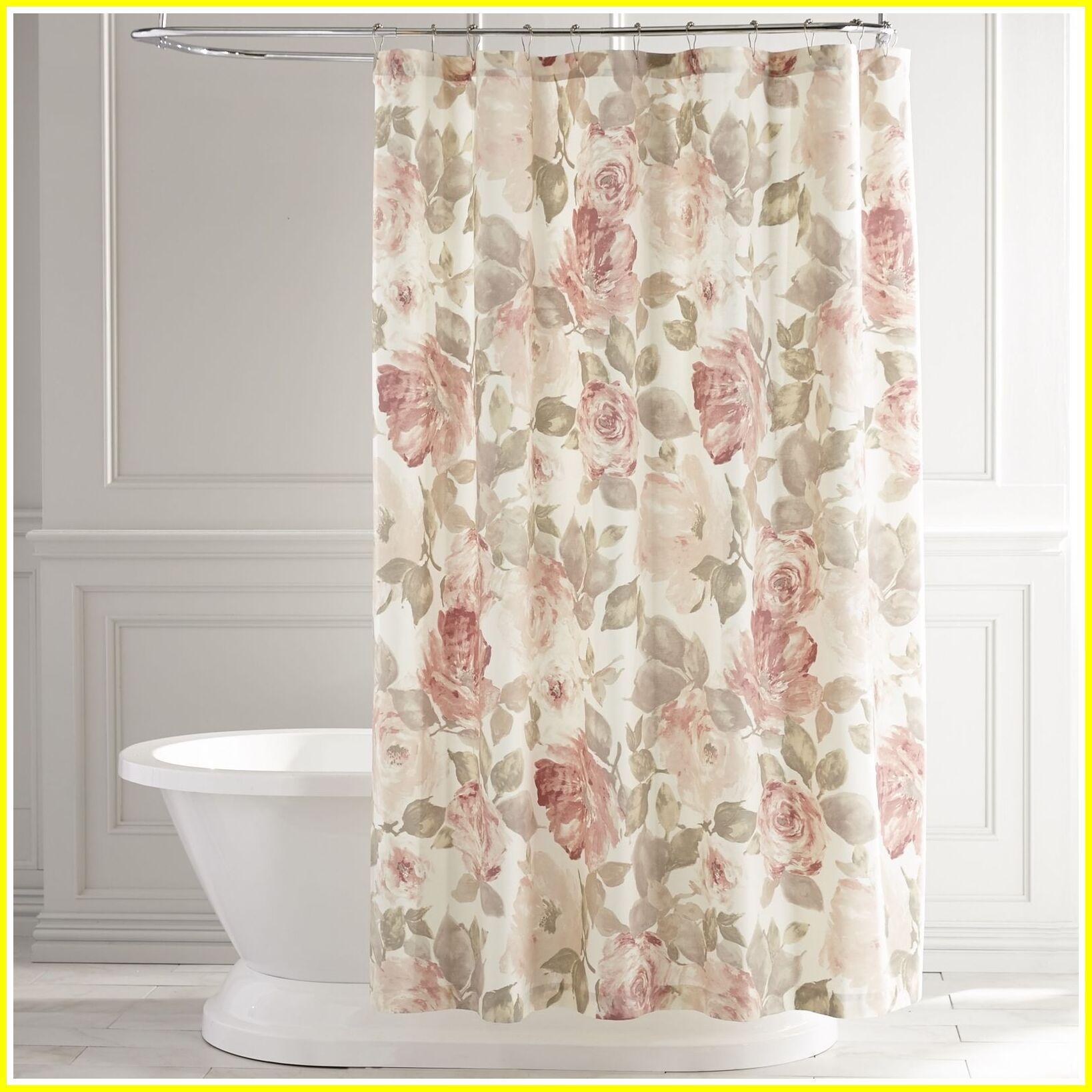 Vintage Style Bathroom Shower Curtains