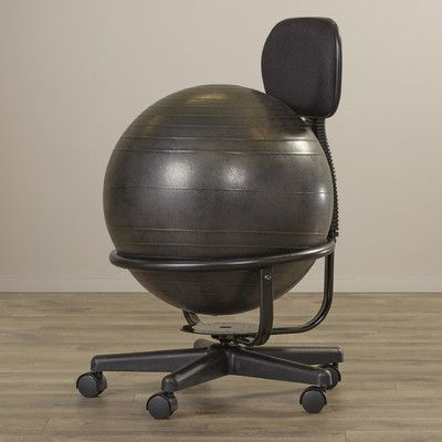 Symple Stuff Exercise Ball Chair Arms With Ball Chair Exercise