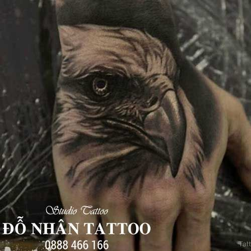 Hình Xăm Đại Bàng: Tác Phẩm Hình Xăm đại Bàng - Đỗ Nhân Tattoo