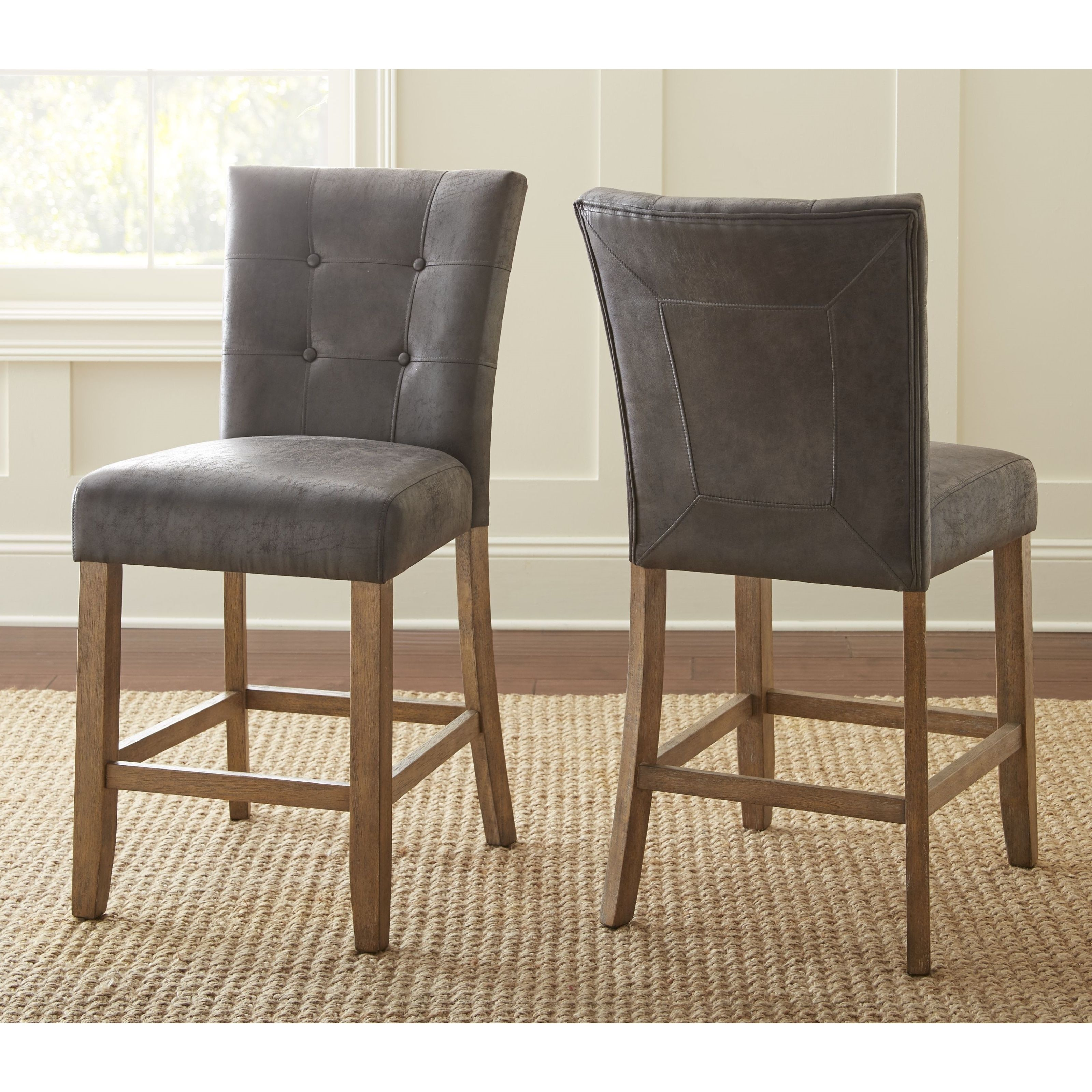The Gray Barn Brush Creek Upholstered Counter Height Dining Chair