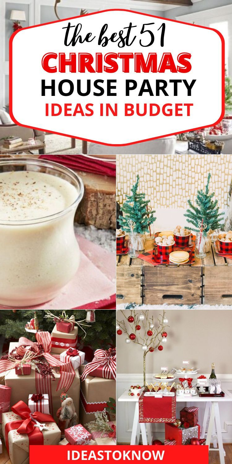 The Christmas time already so magical is made more so by Christmas parties, and there are plenty of those. 51 best Christmas party ideas to get the Christmas ideas for your dream party. #christmasparty #christmasideas