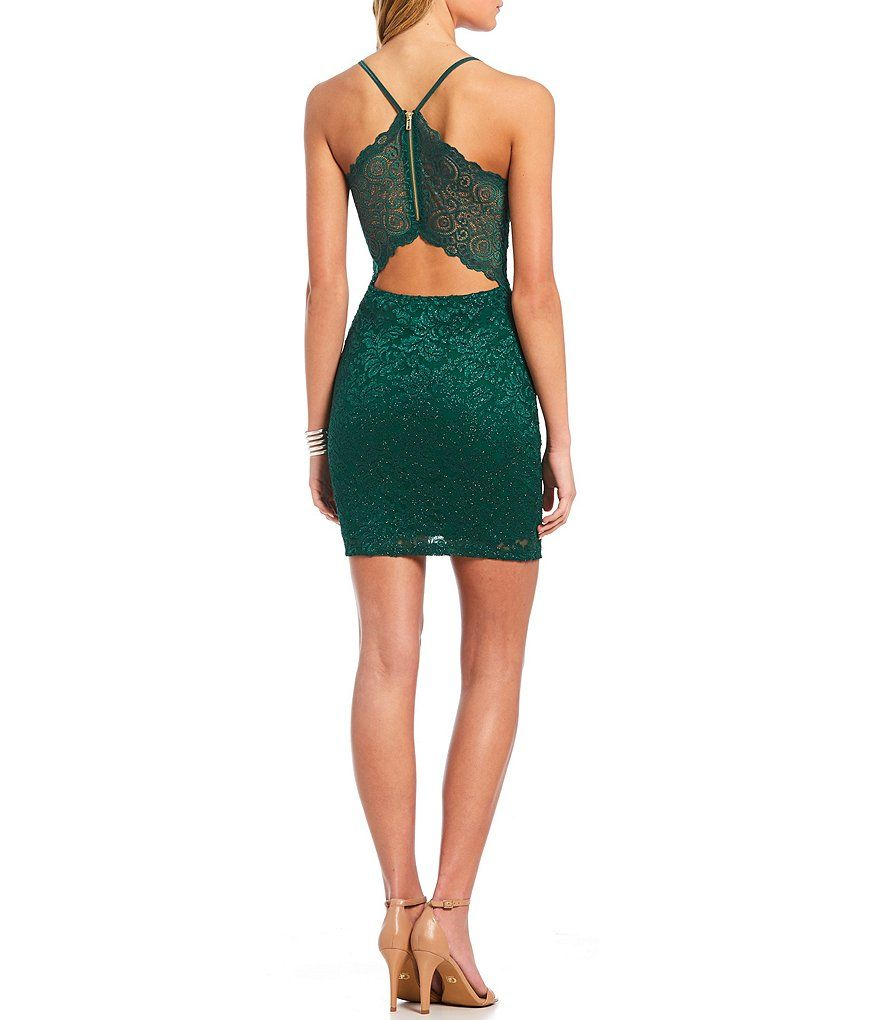 5b9acff9a18 Shop for Honey and Rosie Bra-Back Lace Bodycon Dress at Dillards.com ...