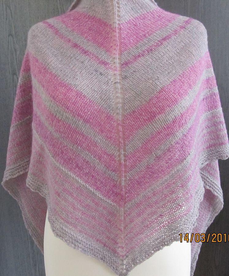 Einfaches Tuch stricken