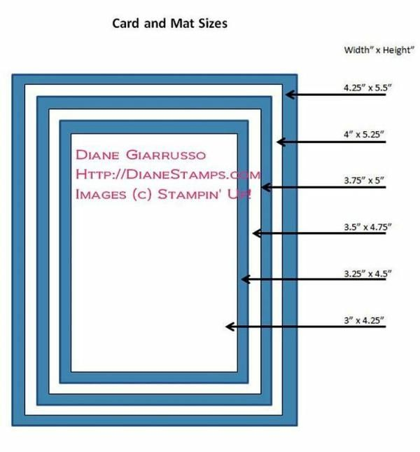 Pin By Kelly Bolch-Harvey On Card Making-measurements