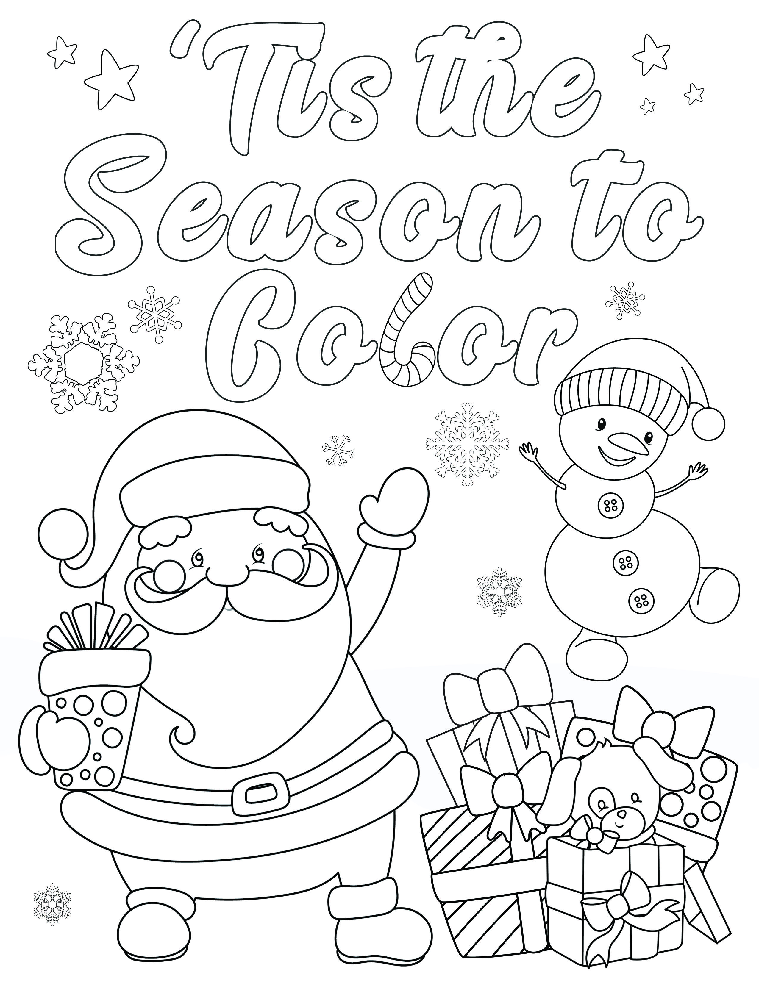 Free Christmas Coloring Pages For Adults And Kids Printable Christmas Coloring Pages Free Christmas Coloring Pages Christmas Coloring Pages