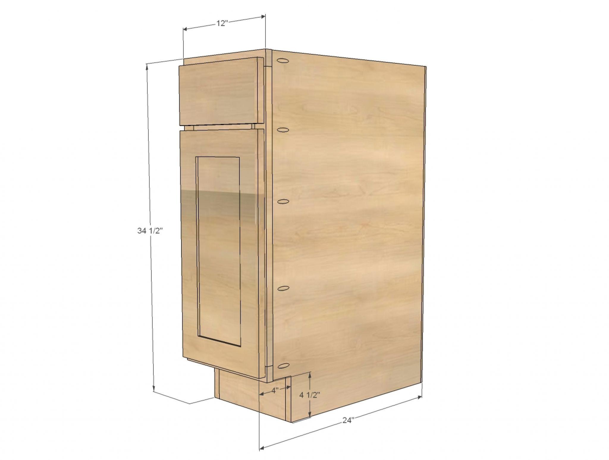standard kitchen base cabinet depth diy ideas for kitchen