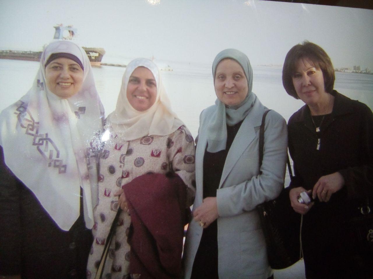 صورة لبعض الزميلات أرسلتها الزميله منى بدوي