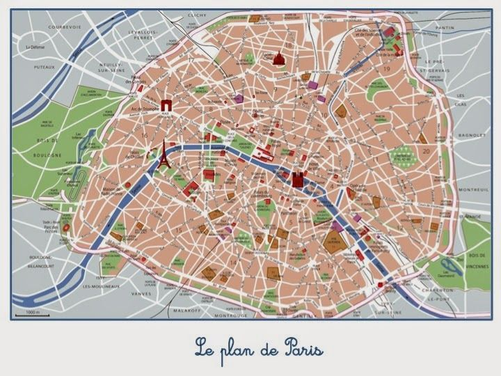 carte des monuments de paris Education Joyeuse*: Les monuments de Paris (cartes de nomenclature