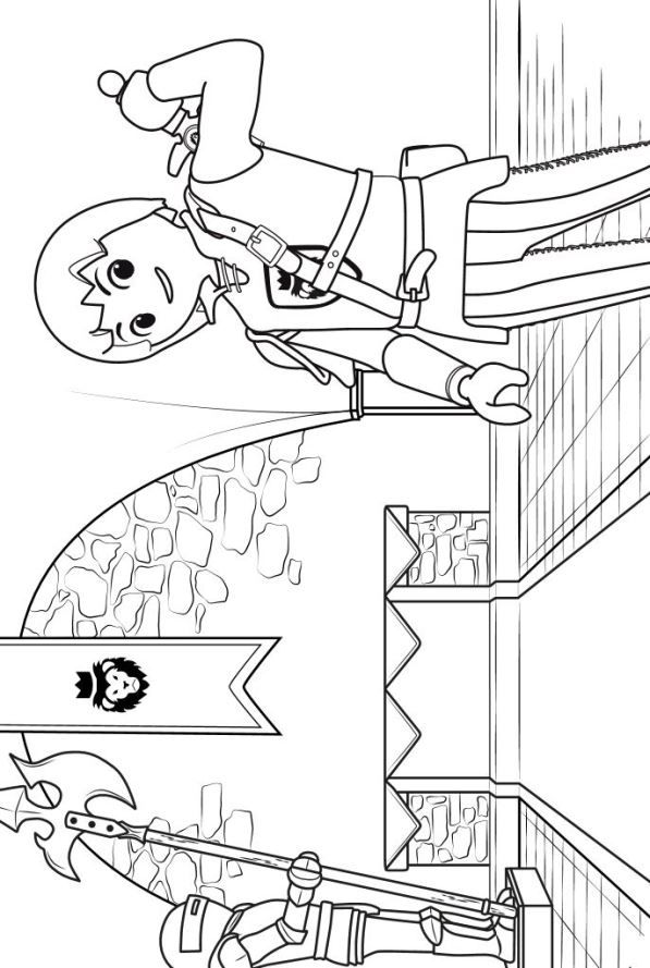 8 Coloring Pages Of Playmobil Super 4 On Kids N Funcouk Fun You Will Always Find The Best First