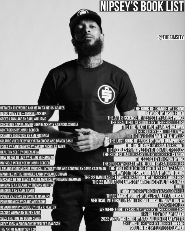 Photo of 'The Marathon Book Club' Is Uniting Black Readers Throughout U.S. In Honor Of Nipsey's Book List