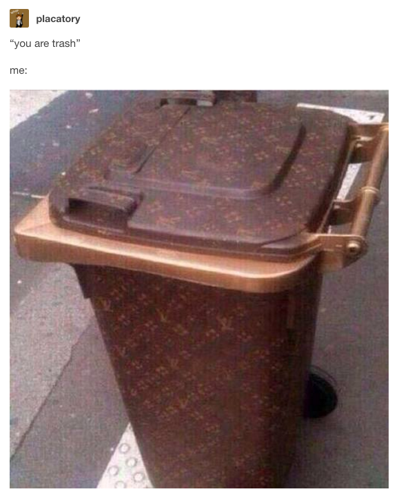 25 Pictures That Will Make Garbage People Say Me Af Louis Vuitton Funny Memes Vuitton