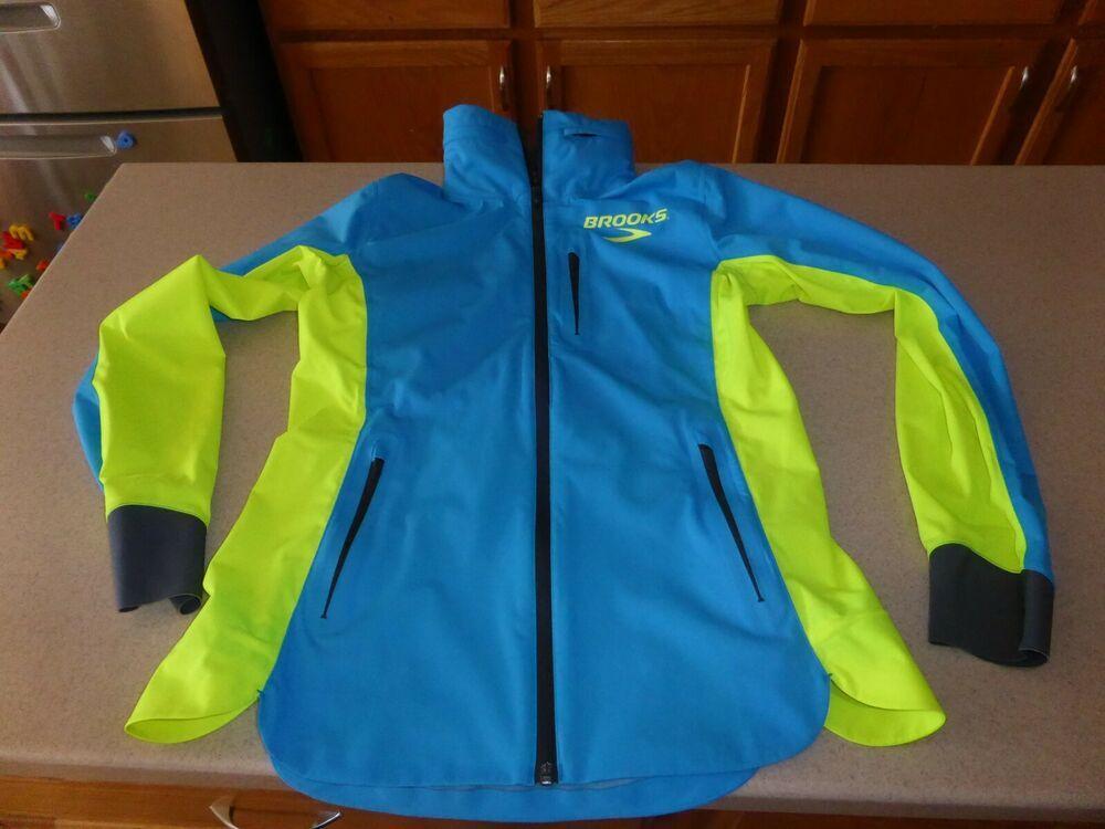 Brooks Running Jacket Blue Dry Layer