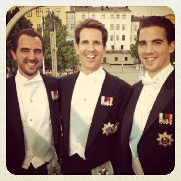 Brothers Prince Nikolaos, Prince Pavlos, And Prince