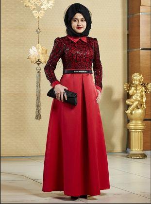 Tesettur Abiye Modelleri Modanisa Com The Dress Moda Stilleri Musluman Modasi