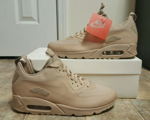 4284a29426 Nike Air Max 90 Sneakerboot SP Patch Pack Sand Men's SZ 12 NEW 704570-200  QS PRM