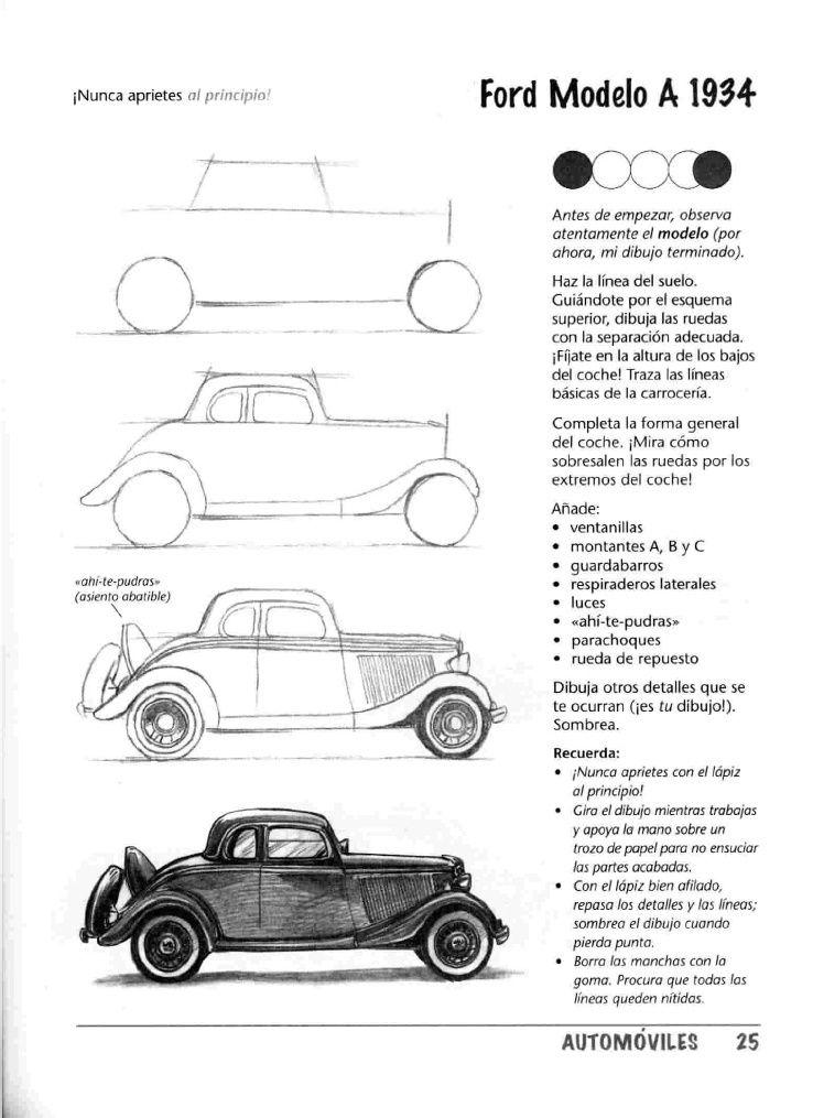 Como Dibujar Autos Paso A Paso Autos Para Dibujar Como Dibujar