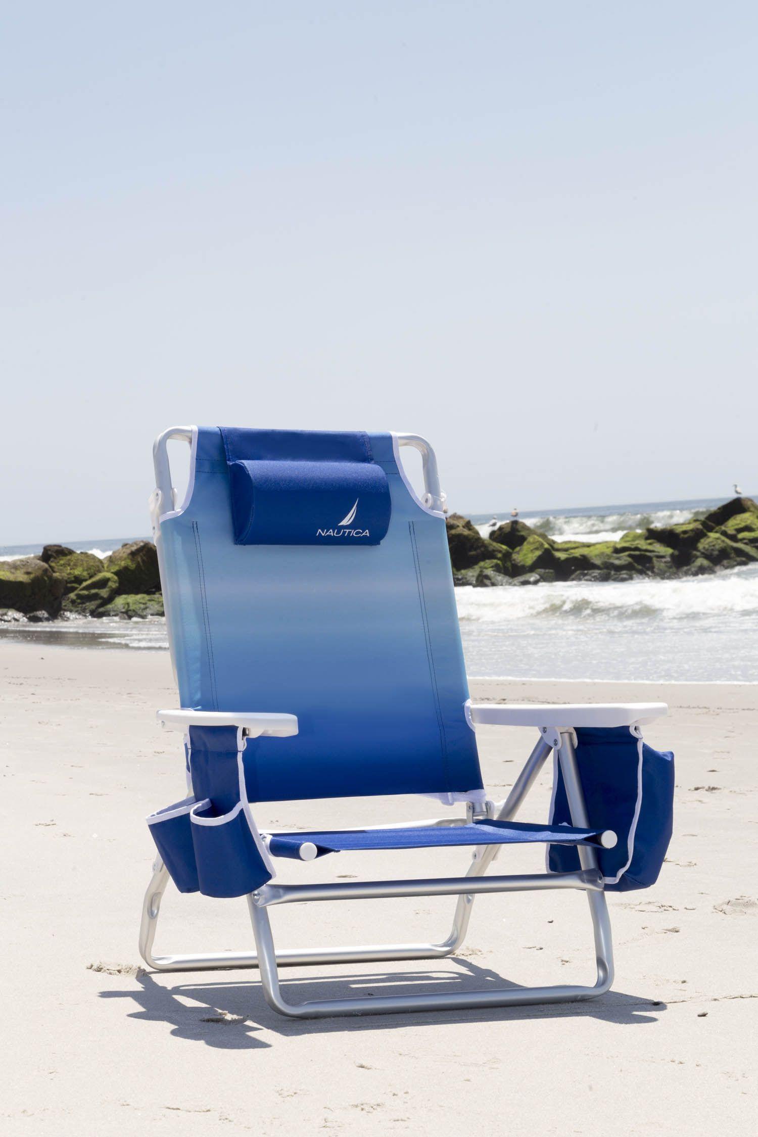 My new Nautica Beach Chair from Sam's Club. Discount