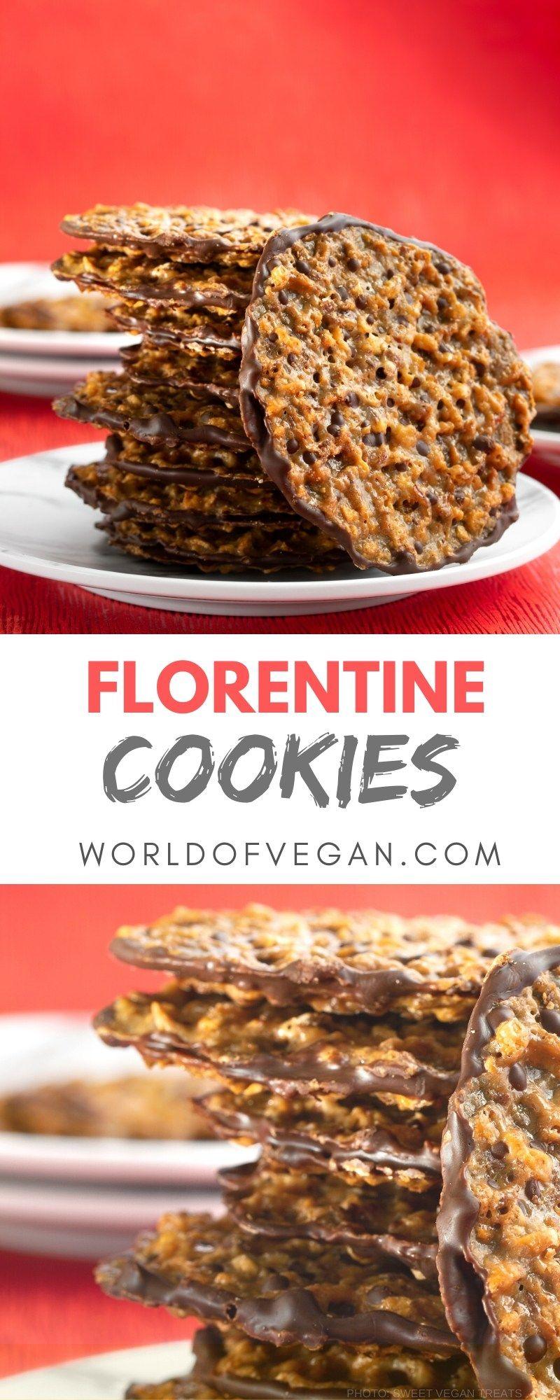 Vegan Vegan Florentine Cookies  World of Vegan