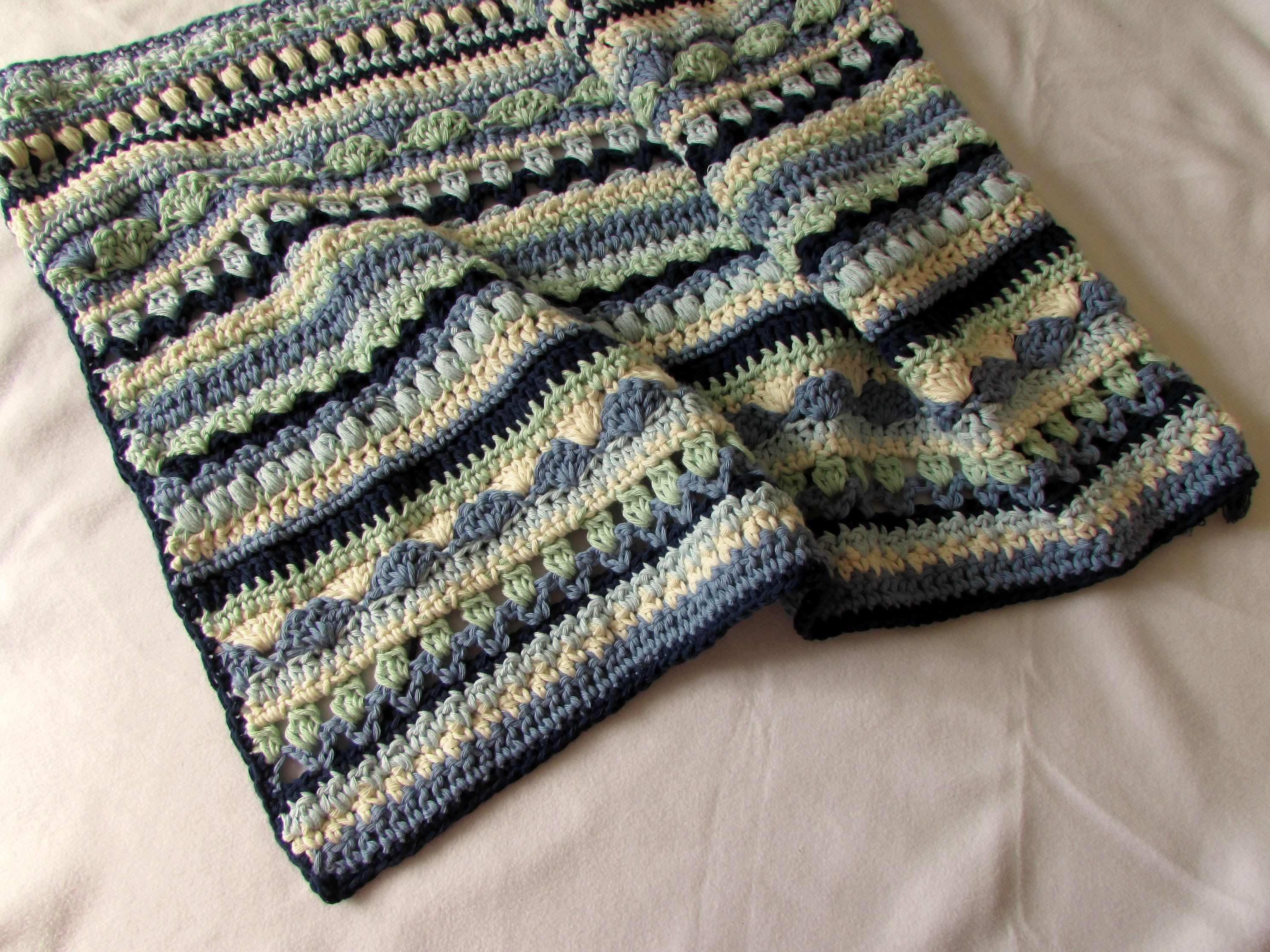 This step by step tutorial will show you how to crochet a pretty ...