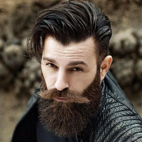 boys hair style photo i lati corti pettine lungo sopra la lunga barba 6085