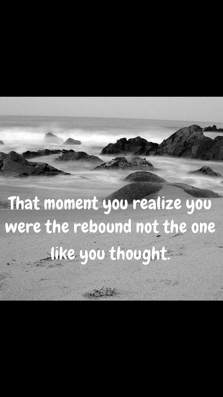 Am i just a rebound