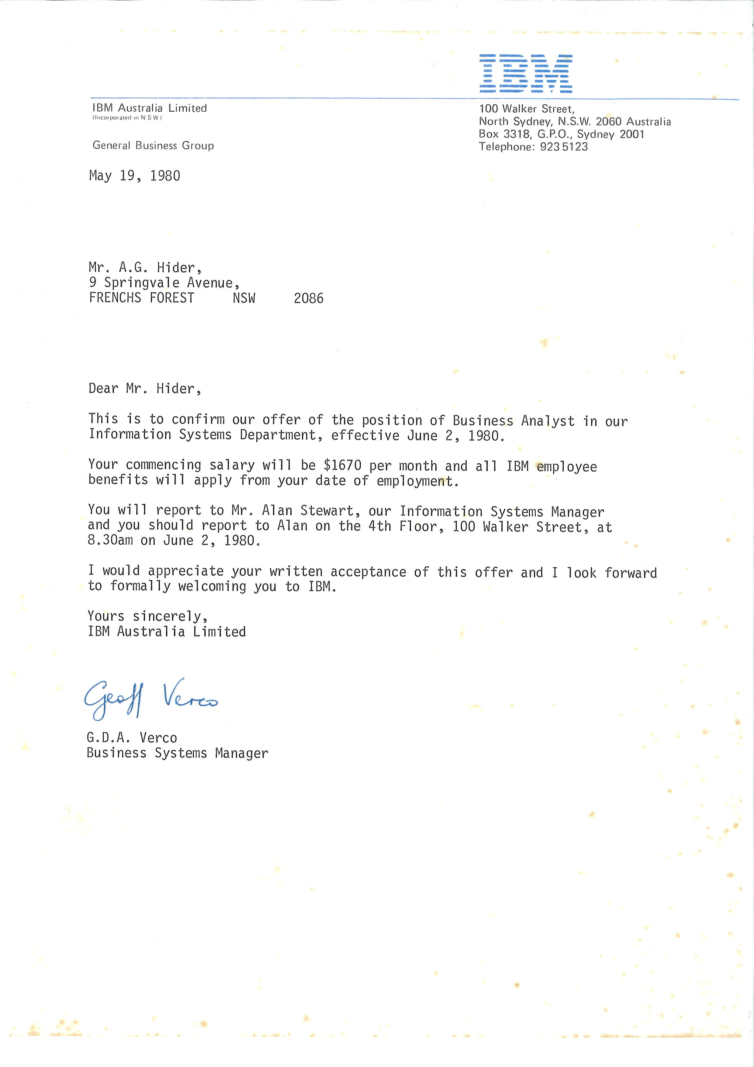 ibm appointment letter the profit doctor appointment letter ibm appointment letter the profit doctor appointment letter