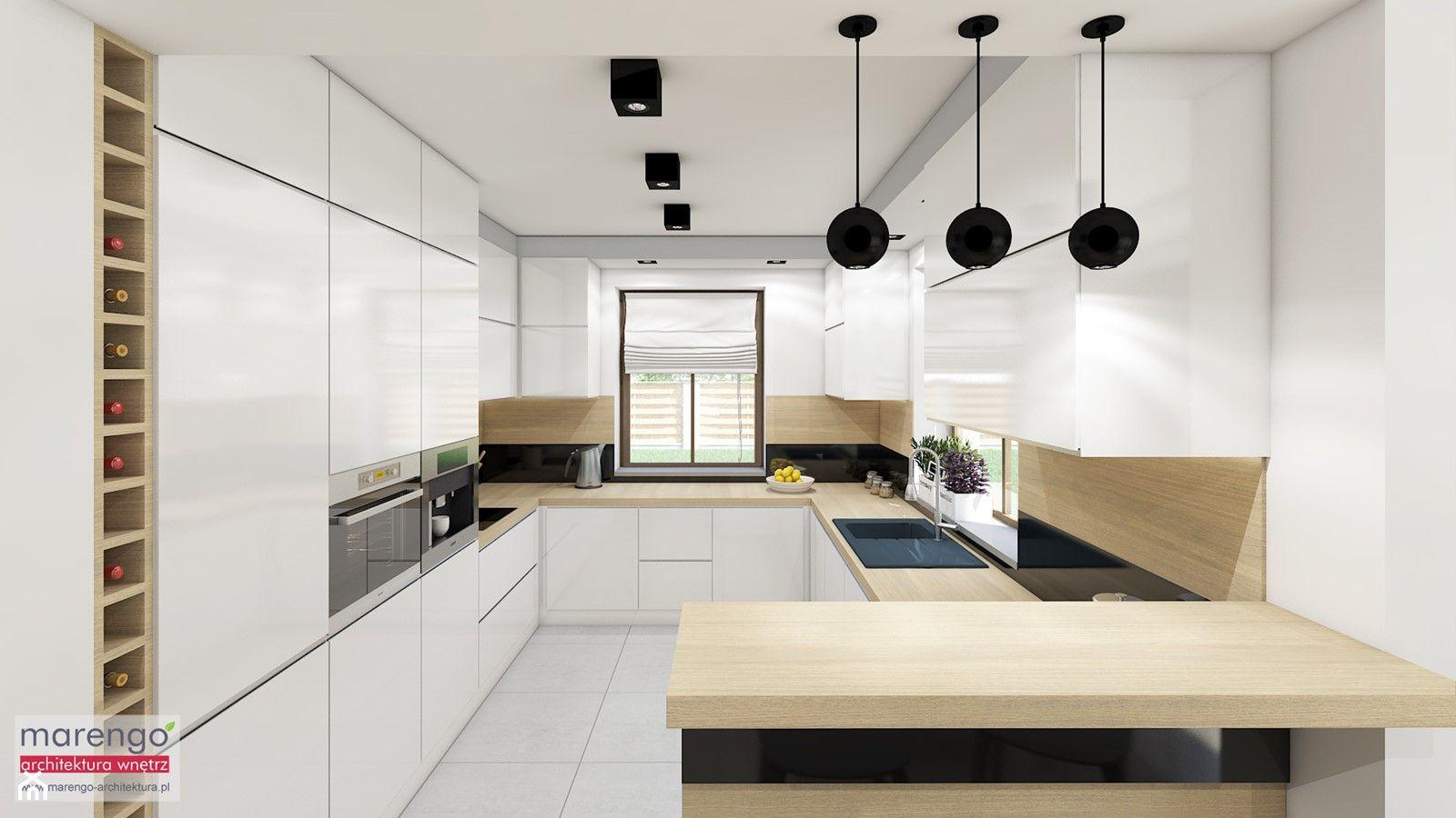 Kuchnia W Ksztalcie Litery U Aranzacje Pomysly Inspiracje Homebook Kitchen Room Design Kitchen Room Kitchen