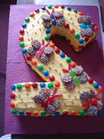 2 year old baby girl birthday cakes Google Search cakes