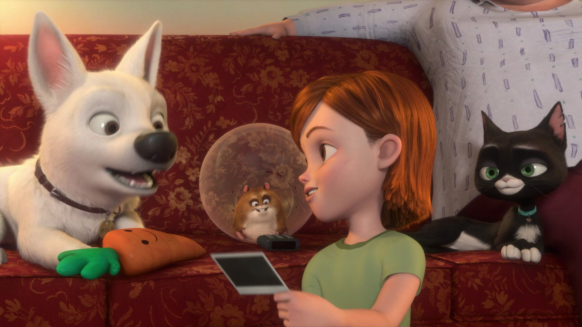 Image Bolt and Penny .jpg Disney Wiki Fandom powered by Wikia | HD ...