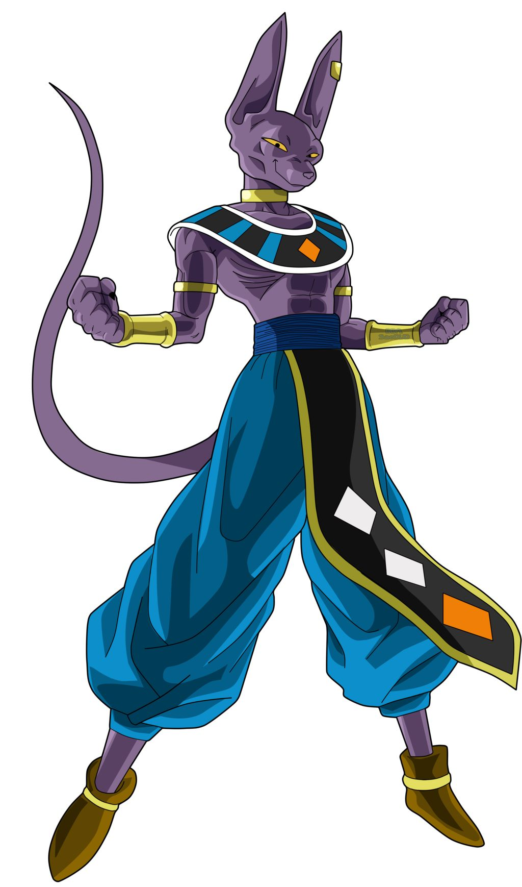 Beerus The God by SaoDVD on DeviantArt