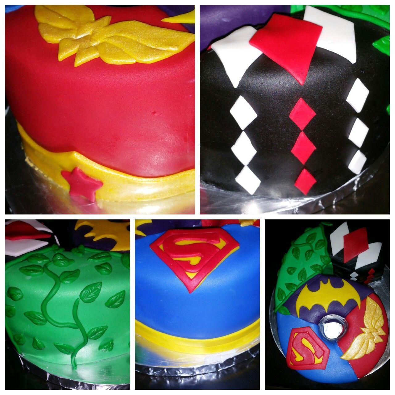 Dc Superhero Girls Cake Party Decorations Birthday Themes 10th Parties