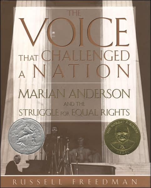 The Voice That Challenged a Nation: Marian Anderson and the Struggle for Equal Rights on www.amightygirl.com      My sister