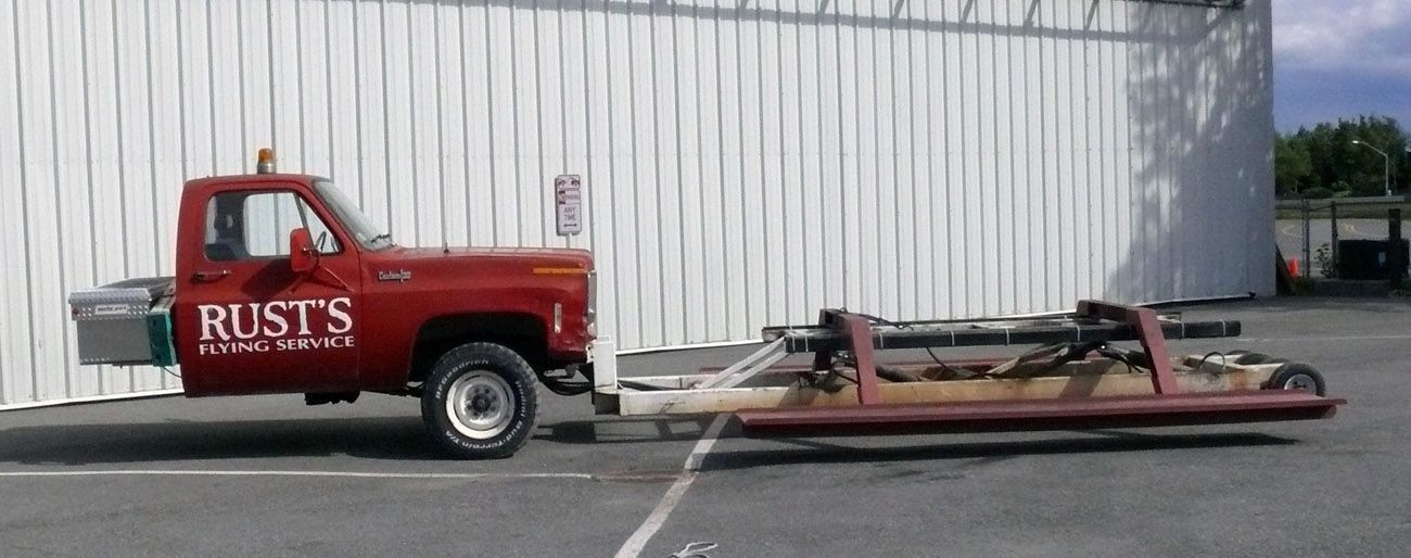 best truck mod ever it 39 s for towing seaplanes general gearheadism pinterest tow truck. Black Bedroom Furniture Sets. Home Design Ideas
