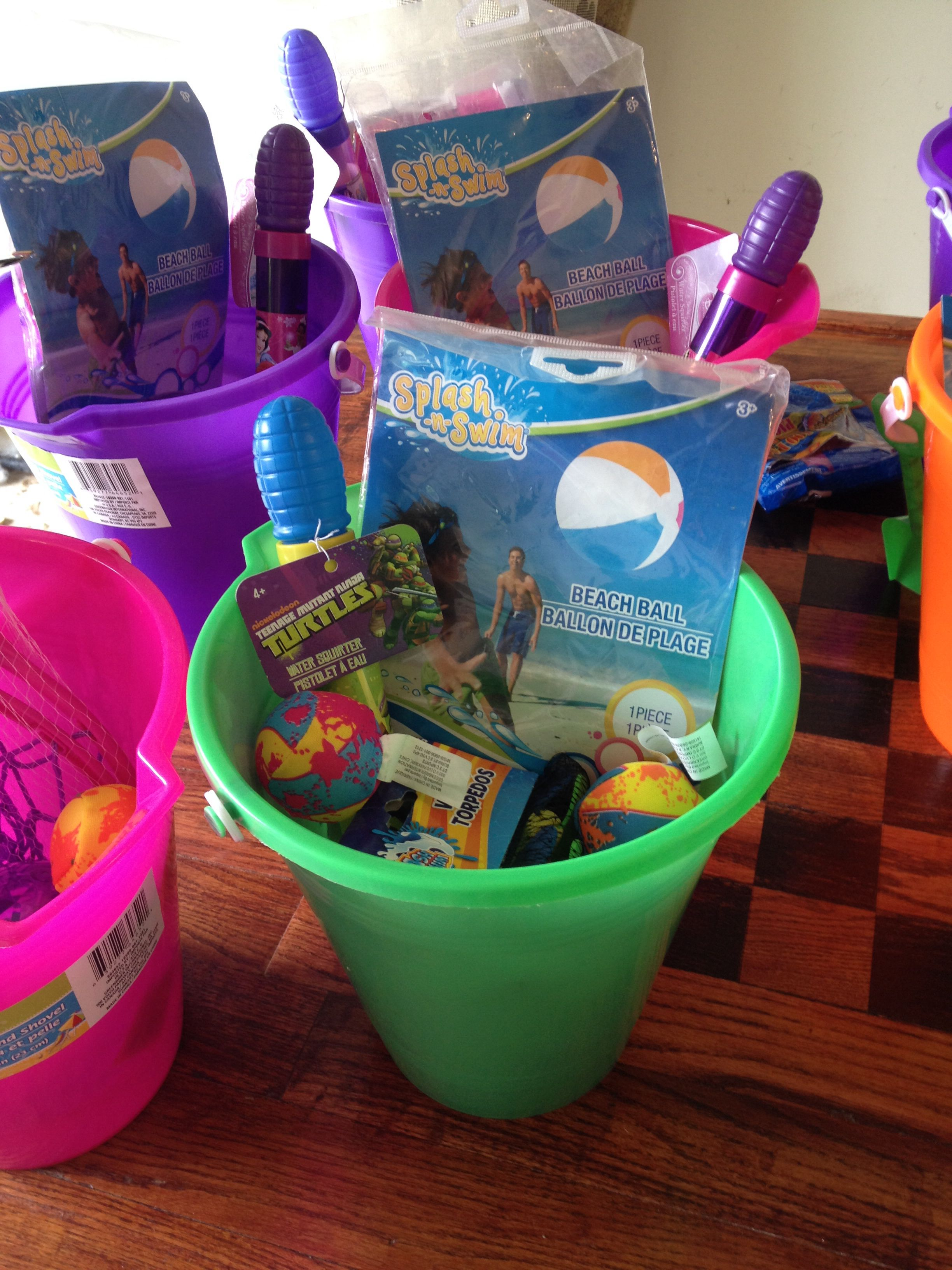 dollar tree party favors for beach themed birthday party parties