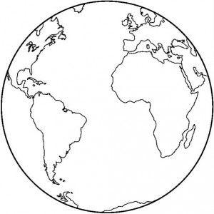 Tierra Para Colorear Cerca Amb Google Earth Drawings Earth Coloring Pages Planet Coloring Pages