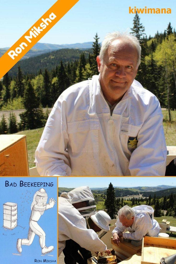 bad beekeeping with ron miksha km113 beekeeping bees and bee