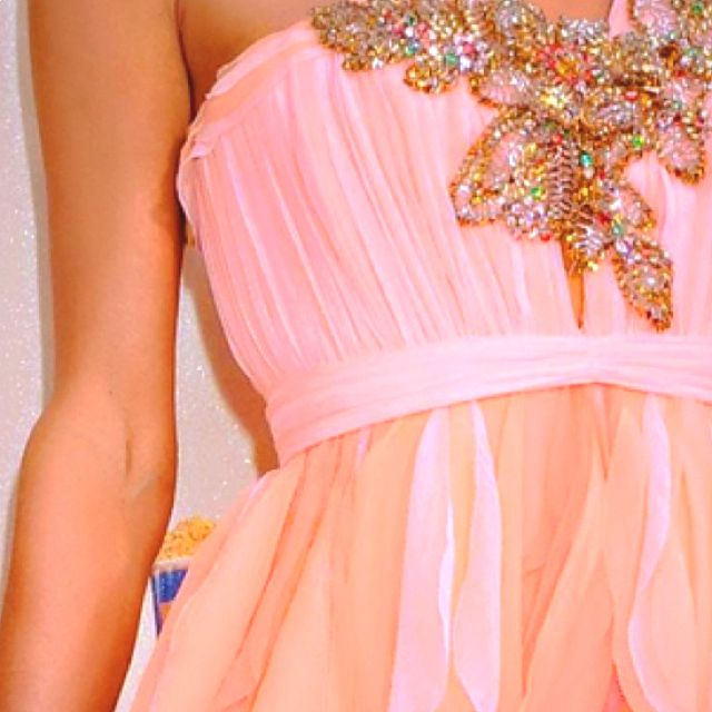 Cute prom dress...love the colors on this one!