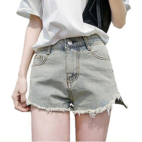 9f663d14f6 Only Faith-Women s Denim Shorts Only Faith Women Summer Cut Off Denim  Shorts Jean Hot