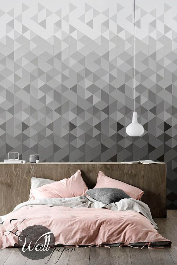 Self Adhesive Removable Wallpaper Wall Decal From Modern Geometrics To Feminine Florals Get Inspired Interior Wallpaper Home Wallpaper Removable Wallpaper