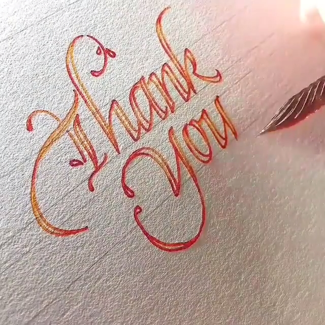 Thank You #3dtypography