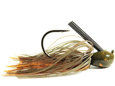 3//8 OUNCE FOOTBALL JIGS *Living Image Peanut Butter /& Jelly* 2 TWO